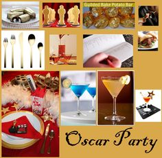 Oscar, Red Carpet, or Movie party theme