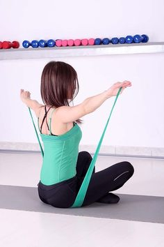 15 Minute Workout: Exercise Bands