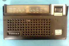 Eski el radyosu.