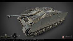 ArtStation - Sturmgeschütz IV. German Tank Destroyer (TIER VIII), Aleksander Galevskyi