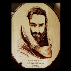 The Savior #LDS #Faith #Jesus #easter #woodburn_designs #pyrography https://www.facebook.com/mywoodburndesigns