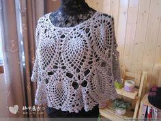 http://crochet101.blogspot.com/2015/11/round-pineapple-shawl.html