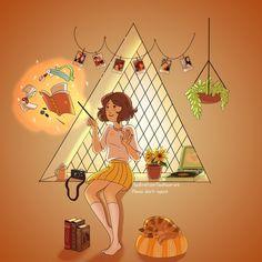 """thebirdfromthemoon-art: """"Houses spirit """""""