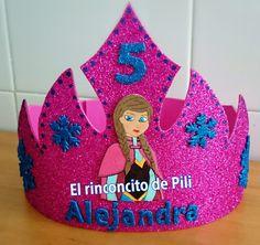Corona princesa Anna #frozen #princesa