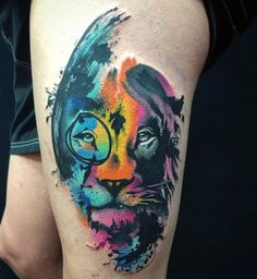 100 Watercolor Tattoo Designs For Men - Cool Ink Ideas