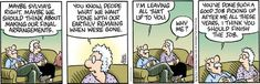 Pickles for 9/3/2021 Older Couples, Im Leaving, Good Job, Getting Old, Comic Strips, Crane, Pickles, Hilarious, Humor