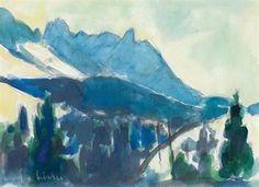 Alpstein by Carl Walter Liner Paintings, Art, Auction, Idea Paint, Stones, Art Background, Paint, Painting Art, Kunst