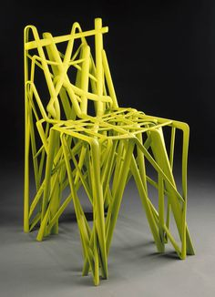 """Patrick Jouin Born in Nantes in 1967 C2 Chair From the series """"Solid"""" 2004 (example of 2007) Nylon, 13/30 77.5 x 39.5 x 54 cm (approx.) Produced by Materialise.MGX, Leuven, Belgiu"""