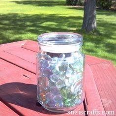 How to Make a Solar Sun Jar Suzi's Crafts