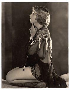 Carole Lombard, Mack Sennett Bathing Beauty, by Edwin Bower Hesser (1928)