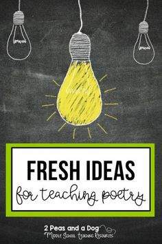Ideas on how to teach poetry lessons so students are engaged and eager to learn about this text type from 2 Peas and a Dog. Poetry Lessons, Writing Lessons, Writing Resources, Reading Strategies, Reading Skills, Teaching Poetry, Writing Poetry, Teaching Reading, Poetry Unit