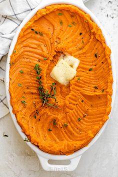 Healthy Mashed Sweet Potatoes | FeelGoodFoodie