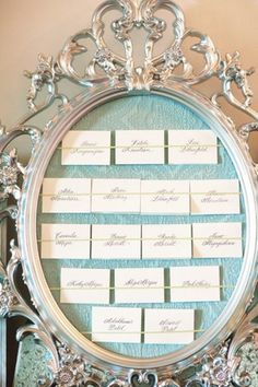 Desi Baytan Photography - escort card display idea