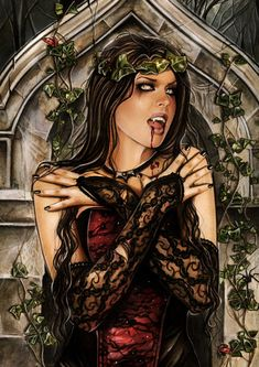 Queen of the night by Anna-Marine.deviantart.com on @deviantART