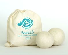 BaaLLS are reusable dryer balls that are handmade ethically from Certified Organic wool from happy sheep! These BaaLLS kill static and soften clothes while taking care of both you and our planet. Each bag includes 4 BaaLLS. Wool Dryer Balls, Healthy Alternatives, Eco Products, Sustainable Products, Homemade Products, Sustainable Living, Bean Bag Chair, Organic, Etsy