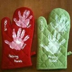 Great homemade gift for a grandma.( use different colors for different holidays) Love it!!!
