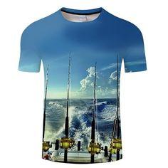 3D print gold blue trippy Short Sleeve T-Shirt Fashion Men//Women Casual Top Tee