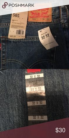 NWT Levi's blue jeans men New with tags men's jeans Levi's Pants