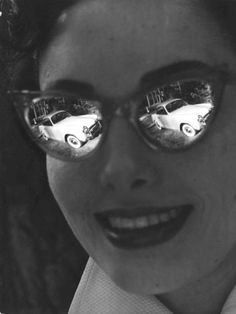 Glasses France 1950 Robert Doisneau
