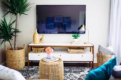 Modern TV Lounge Makeover