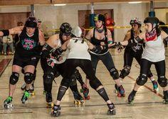 Cape Girardeau Roller Girls 2015 opening scrimmage  4/4/15  http://www.capegirardeaurollergirls.com