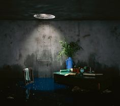 Staged photography by Beijing based artist Chen Wei