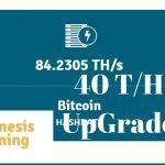 Bitcoin Mining Has Returned On Genesis Mining! Upgrade To 84 Terahash!