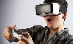 Groupon - Virtual Reality Play for One or Two People at Virtualities (Up to 42% Off) in VirtualitiesCo. Groupon deal price: $19