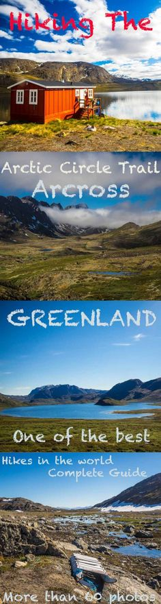 A complete guide to the Arctic Circle Trai,l hike across the western part of Greenland. Here´s everything you need to know and more than 60 photos. #greenland  #outdoor #hiking #treking #travel #travelblogger #travelblog #adventure