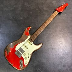 Candy Apple Red, Red Apple, Fender Relic, Strat Guitar, 5 Ways, Uni, Pure Products, Bass, Porn
