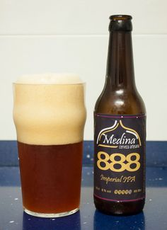 Medina 888. Imperial IPA. 8º