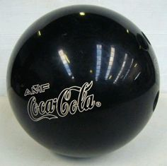 Coca Cola bowling ball...