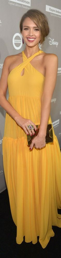 Jessica Alba 2015 baby2baby gala - Giambattista Valli SS16