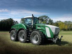 tractors | TractorData.com - AGCO introduces Fendt TRISIX tractor at Agritechnica