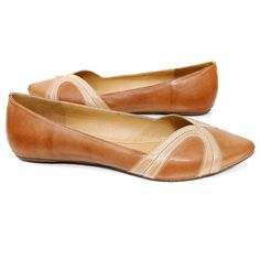 Chocolat Blu 'Goldie' Flat (Brown) « ShoeAdd.com – More Shoes For You Every Day