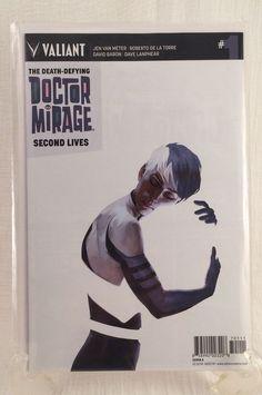 Valiant #1 Death Defying Doctor Mirage Second Lives 1st Printing 2015 Comic BB  | eBay