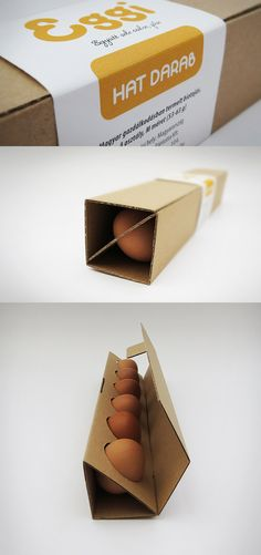 16 Creative Egg Packaging Ideas – From up North box 16 Creative Egg Packaging Ideas Fruit Packaging, Cool Packaging, Food Packaging Design, Packaging Design Inspiration, Brand Packaging, Packaging Ideas, Takeaway Packaging, Cardboard Packaging, Paper Packaging