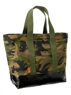 Gap coated canvas tote