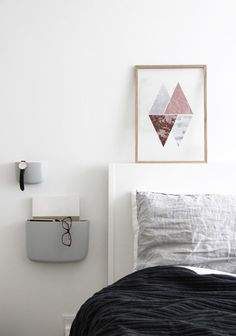 Burgundy&Grey Geometric Art Print, Geometry Art, Minimalism, Abstract Poster, Set of Three Prints, Set 3 Prints, Bedroom Wall Art, Above Bed