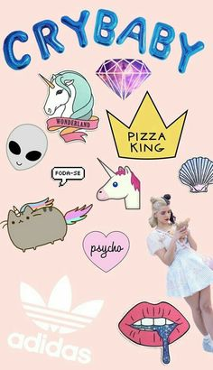 Imagem de wallpapers and melaniemartinez