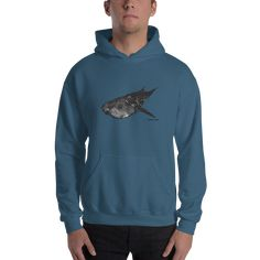 Whale Shark Hoodie Big Fish, Sharks, Hoodies, Sweatshirts, One Pic, Rib Knit, Whale, That Look, Stylish