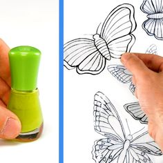 Diy Crafts For Gifts, Diy Home Crafts, Crafts To Do, Easy Crafts, Crafts For Kids, Arts And Crafts, Paper Crafts, Butterfly Crafts, Flower Crafts