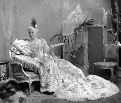 Images by Lafayette of the Guests in Costume at the Devonshire House Ball 3 July 1897. Georgiana, Viscountess Curzon, later Countess Howe née Spencer-Churchill (1860-1906), as Queen Maria Leszczyńska of Poland.
