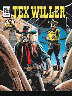 Tex Willer -lehti no 11/2013. #sarjakuva #sarjis #egmont #sarjakuvalehti