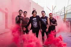 SWS, Sleeping With Sirens; Emo Bands, Music Bands, Rock Bands, Ronnie Radke, Young K, Screamo, Band Pictures, Only Play, Kellin Quinn