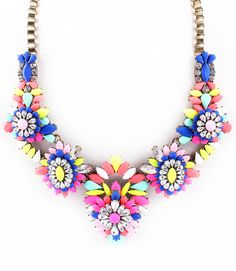 La Mer Statement Necklace – Pree Brulee