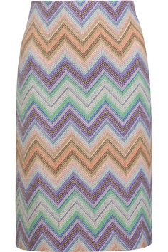 Shop on-sale Missoni Metallic crochet-knit skirt. Browse other discount designer Skirts & more on The Most Fashionable Fashion Outlet, THE OUTNET.COM