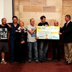 Sydney cheque handover