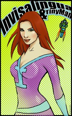From Twitter user M3leficent: A pop art heroine!
