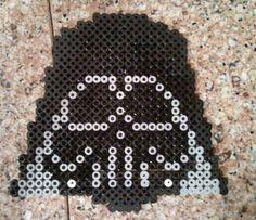 Star Wars Darth Vader  perler beads by MyUpsideDownFrown
